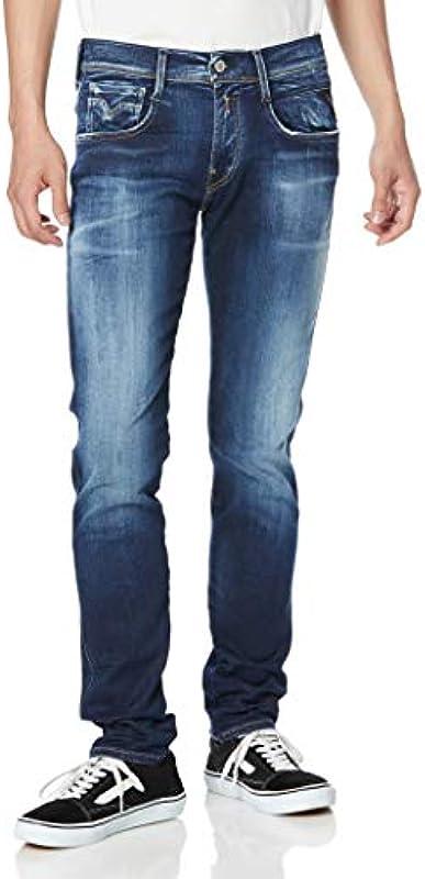 Replay Męskie Anbass Jeans: Odzież