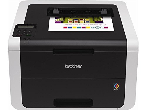 Brother HL-3170CDW Digital Color Printer with Wireless Networking and Duplex, Amazon Dash Replenishment Enabled by Brother
