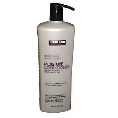 Kirkland Signature Moisture Conditioner, 33.8 Fluid Ounce
