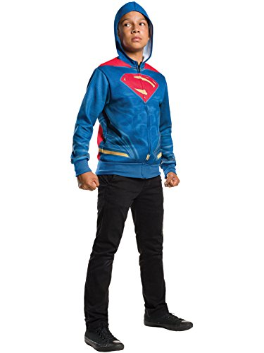 Rubie's Costume Batman v Superman: Dawn of Justice Superman Child Hoodie, Small