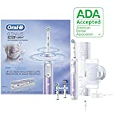 Oral-B 9600 Electric Toothbrush, 3 Brush Heads, Powered by Braun, Orchid Purple