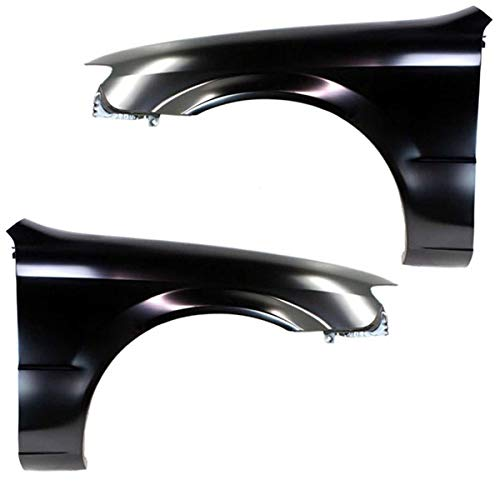 Koolzap For 01-03 Protege Front Fender Quarter Panel Left Right Side SET PAIR