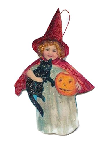 Halloween Ornament Decoration Sweet Little Red Witch