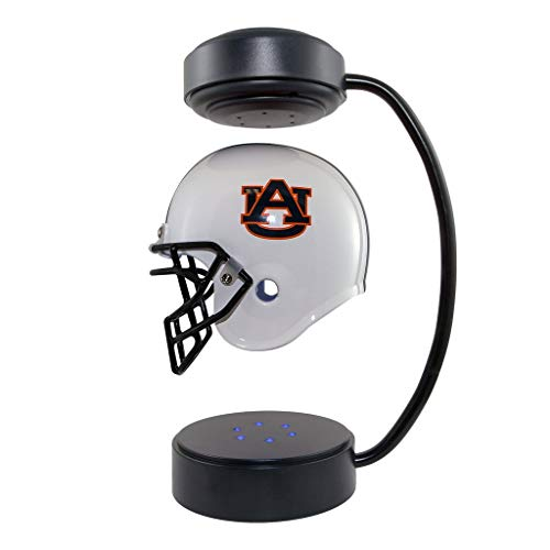 (Auburn Tigers NCAA Hover Helmet - Collectible Levitating Football Helmet with Electromagnetic Stand)