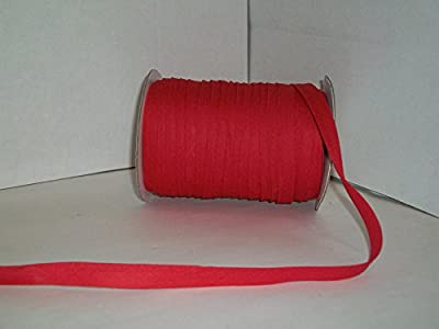RED Double Fold Bias Tape 50 Yds. 1/2 Inch - MJ's Crafts & More