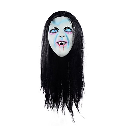 Ohuhu Halloween Ghost Mask Scream Costume Party Mask, Call of Duty Ghosts Masks (Ghost Mask)