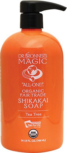 Magic Organic Shikakai Soap Tea Tree 24 fl oz Liquid