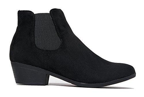 Alton Western Ankle Bootie, Black IMSU, 8.5 B(M) US by ZooShoo (Image #2)