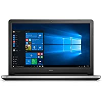 Dell Inspiron i5559-7081SLV 15.6 Inch Touchscreen Laptop (Intel Core i7, 8 GB RAM, 1 TB HDD, Silver Matte) Intel Real Sense and Microsoft Signature Image