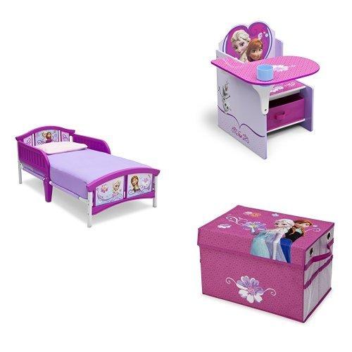 Disney Frozen 3-Piece Toddler Bedroom Bundle by Delta Children