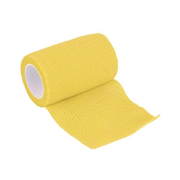 Vendaje cohesivo,12 Vendajes Elásticos Adhesivos Adhesivos Para Camuflaje de La Pegatina de Bicicleta de Caza (A) 8
