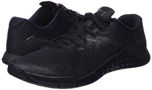Metcon Nero Basse hyper black Nike Da Ginnastica Crimson Uomo 4 Scarpe 001 black black F0wCqx1