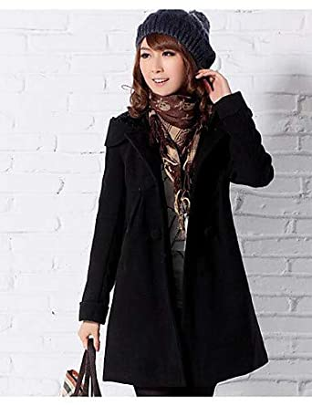 4d0757b3c52 ELECTROPRIME Women s Plus Size Casual Daily Simple Coat