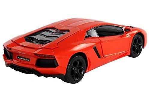 K&A Company 1:14 Lamborghini RC Car Gravity Sensor Dangling Remote Control Car New 13.6'' x 5.5'' x 3.1'' Orange