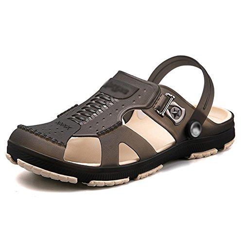 Baotou Style Wear Summer Slip Resistant Hasp Shoes Non Home Men's Black Beach Feifei New Sandals wxqYp4WUtT