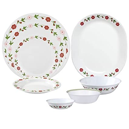 Buy Corelle Livingware Spring Pink 76-pc Set Online at Low Prices in ...