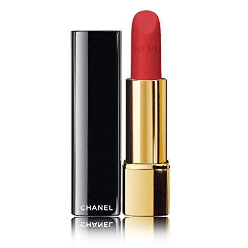 CHANEL Rouge Allure Velvet Lip Colour # 46 LA MALICIEUSE 3.5G/0.12OZ (Chanel 3.5g/0.12oz Rouge)