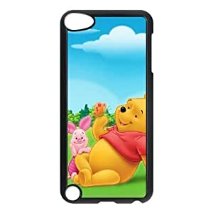 iPod Touch 5 Case Black Winnie the Pooh6 EUA15979265 Customized Plastic Phone Case