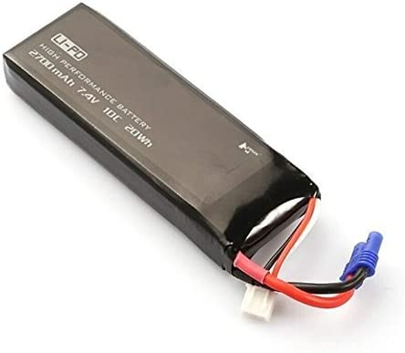 US 7.4V Replacement Lipo Battery 2700mAh 10C for Hubsan H501S RC Quad Drone FPV
