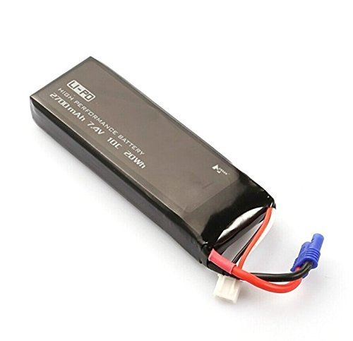 Hobbylane Original Replacement Lipo Battery 2700mah 7.4V for Hubsan H501S (1 Pcs)