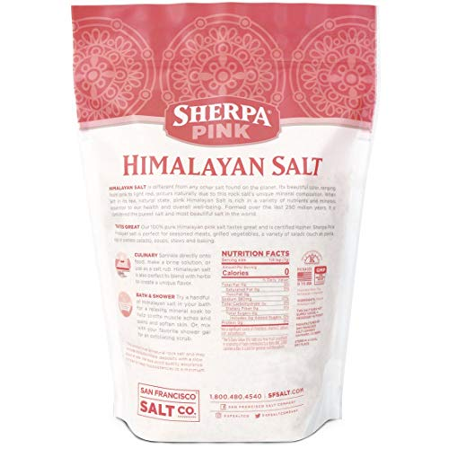 Sherpa Pink Gourmet Himalayan Salt, 2 lbs. Fine Grain. Incredible Taste. Rich in Nutrients and Minerals To Improve Your Health. Add To Your Cart Today. by Sherpa Pink (Image #4)