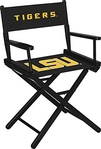 Imperial Officially Licensed NCAA Merchandise: Directors Chair (Short, Table Height), LSU Tigers