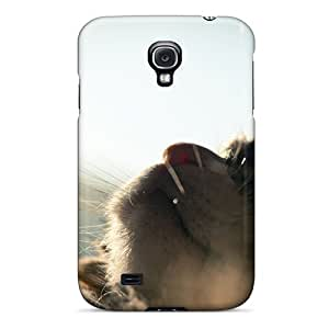 Galaxy S4 MjG5725vcIs Animals Cat Looking Up Tpu Silicone Gel Case Cover. Fits Galaxy S4
