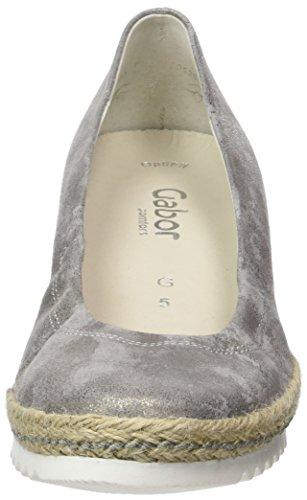 Beige Plate Taupe Pompes Shoes 93 Plateforme Femme Gabor à Comfort Jute 1w80AxKqX