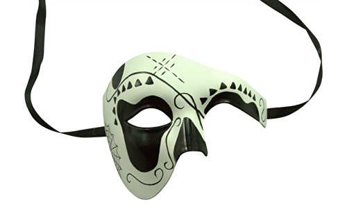 Day of the Dead Masquerade Venetian Masks (9 Styles) (DOD002) Day Venetian Mask