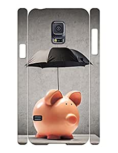Umbrella Collection Mobile Phone Case With Cute Piggy Pattern Slim Fit Case Cover for Samsung Galaxy S5 Mini SM-G800