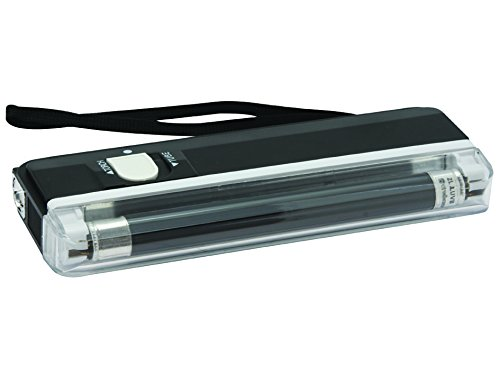 Black Velleman ZLUVB Mini Ultraviolet Lamp Plus Torch