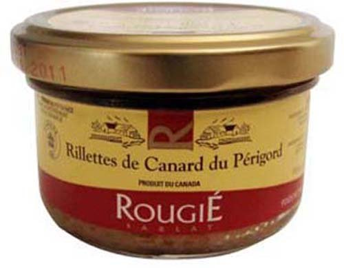 Rougie Duck Rillettes du Perigord, 2.8-Ounce Jars (Pack of 4)