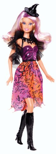 Barbie Outfits For Halloween (Mattel Barbie 2013 Halloween Barbie Doll)