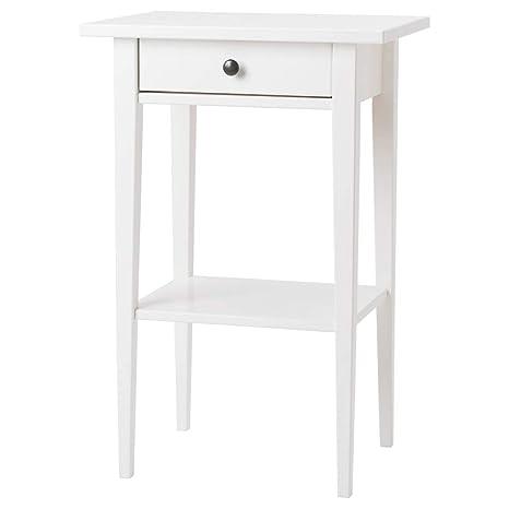 Comodino Ikea Bianco.Ikea Asia Hemnes Comodino Bianco Amazon It Giardino E