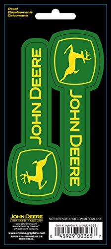Chroma 000365 Stick-Onz 'John Deere' Decal