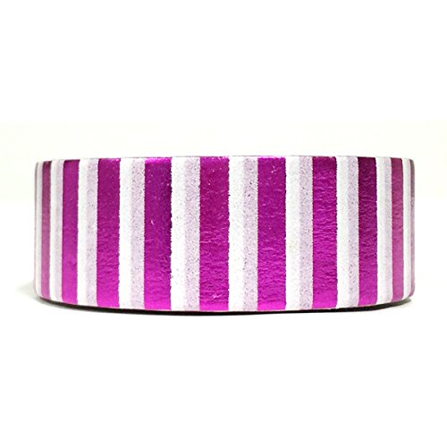 Wrapables Colorful Masking Metallic Fuchsia