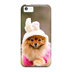 Hot JWrWo18579FFeTl Case Cover Protector For Iphone 5c- Cute Doggy
