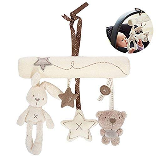 Da.Wa Crib Stroller Soft Toys Baby Hanging Rabbit Star Shape Toy