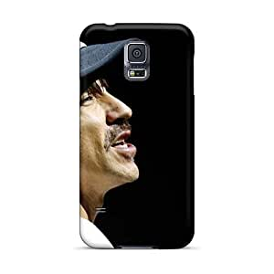Shock-Absorbing Hard Phone Case For Samsung Galaxy S5 (STg14744mVTz) Customized Fashion Red Hot Chili Peppers Skin