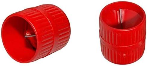 Kunststoffrohre 3-42 mm SANPRO Entgrater//Rohranfaser f/ür Metallrohre
