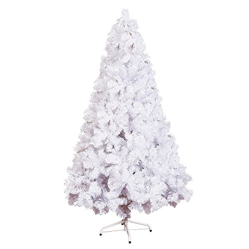 ollypulse artificial eco friendly pvc indoor outdoor christmas tree with metal stand and plastic - White Outdoor Christmas Tree