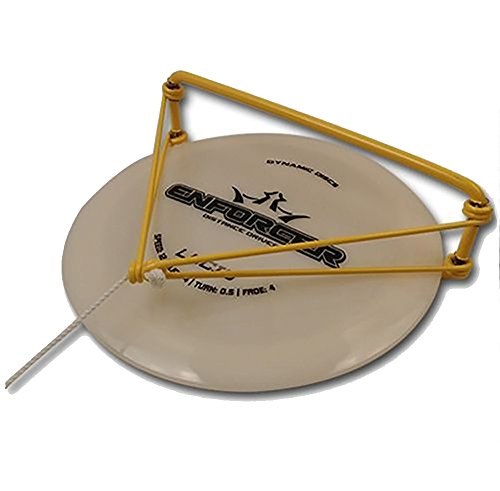 DiscDiver Disc Golf Golden Retriever - Essential Disc Golf Accessory - Get Your Discs Out of Water (Colors May - Retriever 10 Min