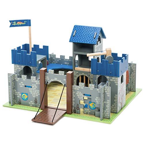 Le Toy Van Castle Playset, Excalibur Castle - Blue