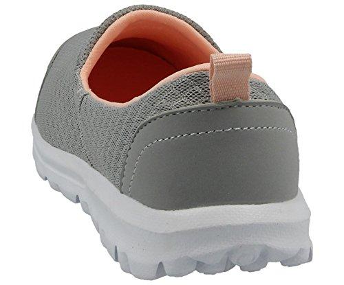 scarpe on Flexi ballerine Ella nbsp; slip misura pompe 3 Ladies mesh memory comfort foam go qPIqw1g