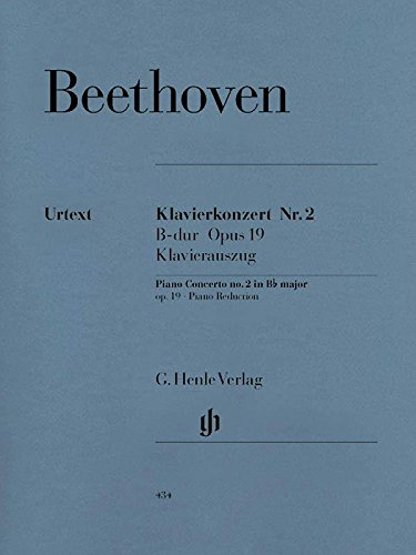 Concerto for Piano and Orchestra No. 2 B flat major op. 19 - piano and orchestra - piano reduction for 2 pianos - (HN 434)