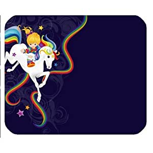 "Rainbow Brite And Starlite Mousepad Personalized Custom Mouse Pad Oblong Shaped In 9.84""X7.87"" Gaming Mouse Pad/Mat"