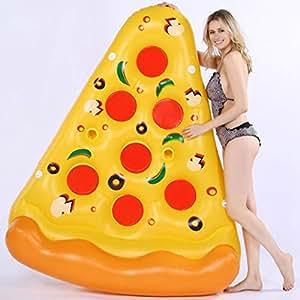 WANG XIN Flotador Inflable para Pizzas para Pizza - Tela y ...