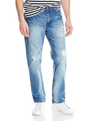 nole Fashion Jean, Light Indigo, 34x32 (Akademik Men Jean)