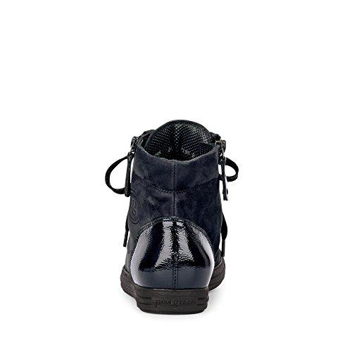 Paul Pour à Femme Ville 381 Green de Chaussures Bleu 1230 Lacets PPrTqO