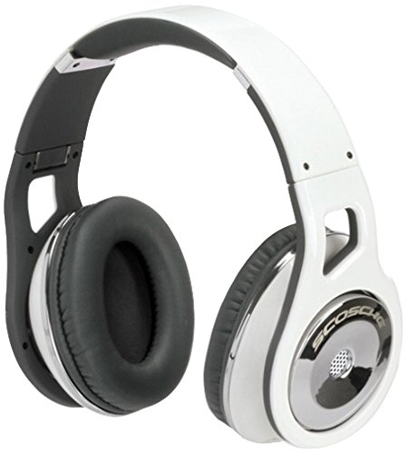 - Scosche RH1056M Over-The-Ear Headphones (White)